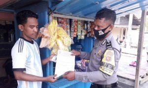 Bhabinkamtibmas Desa Mayung Aipda Purwoko Laksanakan Terobosan Belanja Masalah