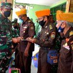 Pangdam Silaturahmi Dengan Veteran, Pelaku Perebut Kemerdekaan Indonesia Wilayah Indramayu