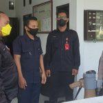 Kapolsek Utbar Berikan Arahan Kepada Pamdal Balaikota Cirebon