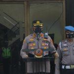 Kapolres Cirebon Kota Pimpin Apel Pagi, Apresiasi Kinerja Anggota