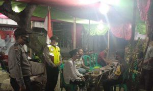 Jelang Pilwu Serentak 2021, Polsek Gunung Jati Polres Ciko Tingkatkan Patroli KRYD