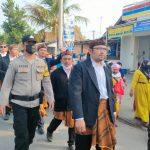 Sinergi Bhabin Polsek Kapetakan Bersama Babinsa, Pamwal Adat Ngunjung Syehk Magelung Sakti dan Buyut Selawe